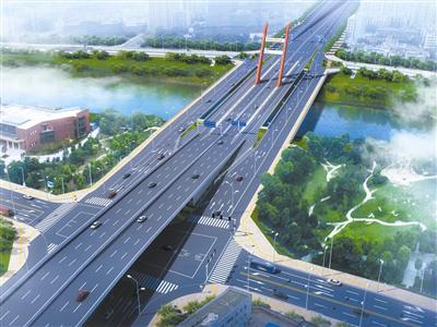 銅陵路高架鋼箱梁主線橋及拓寬橋工程